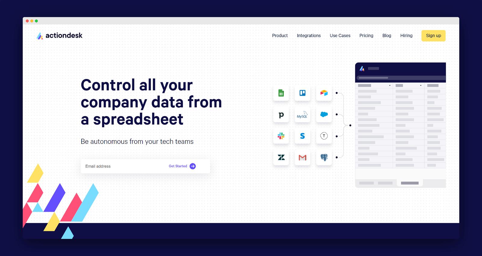Actiondesk Screenshot 1