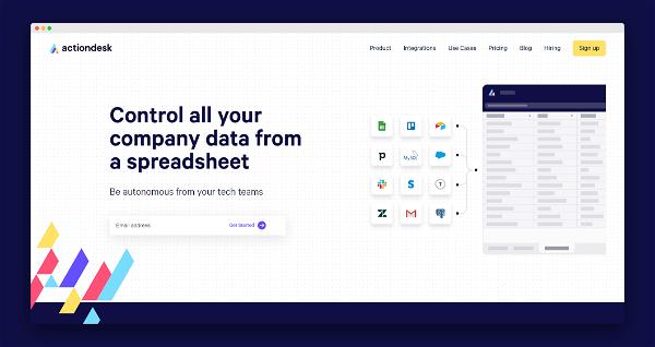 Actiondesk Screenshot