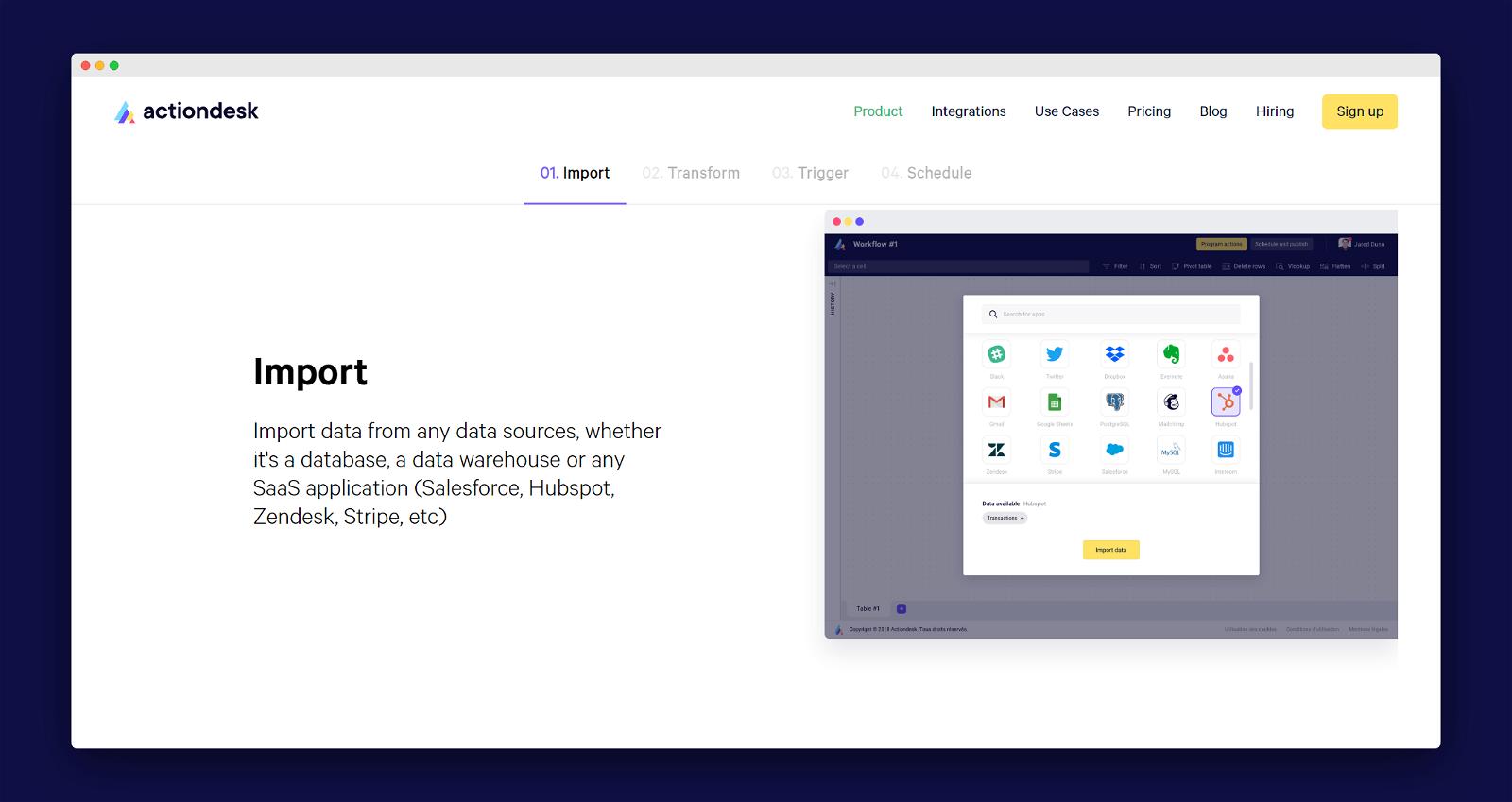 Actiondesk Screenshot 2