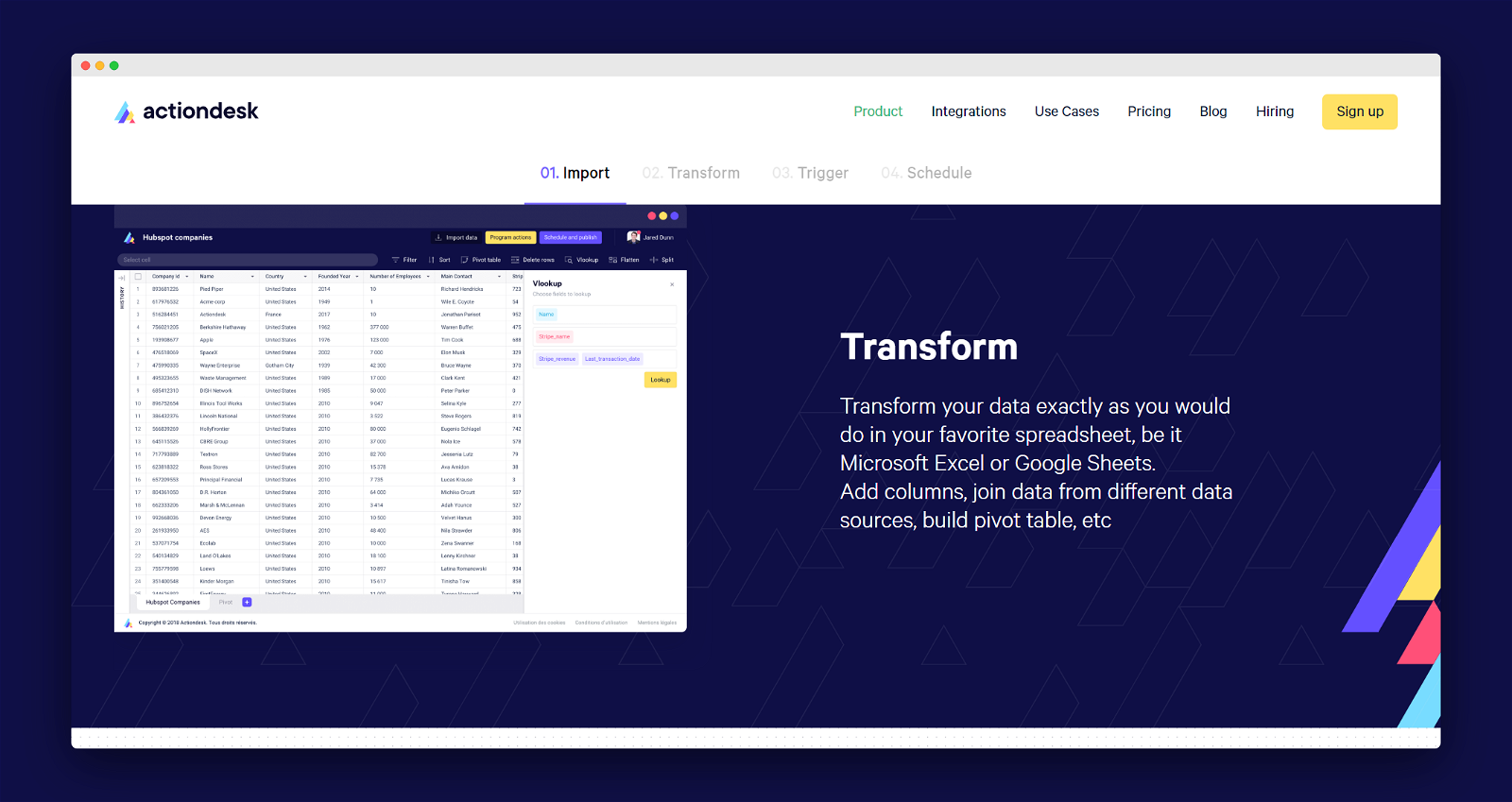 Actiondesk Screenshot 3