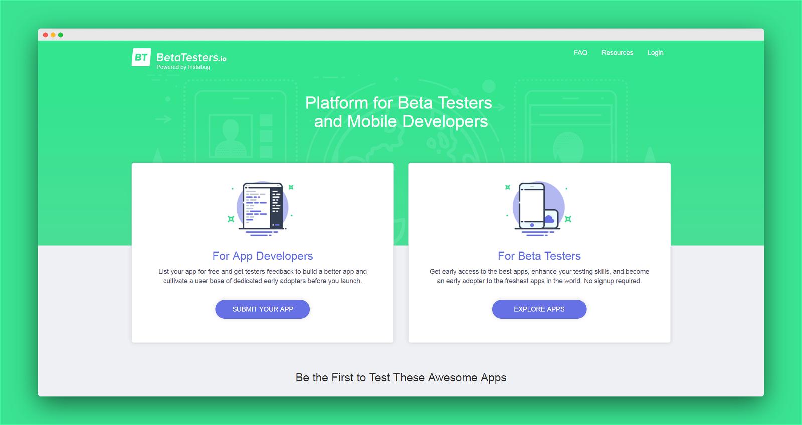 Beta Testers Screenshot 1