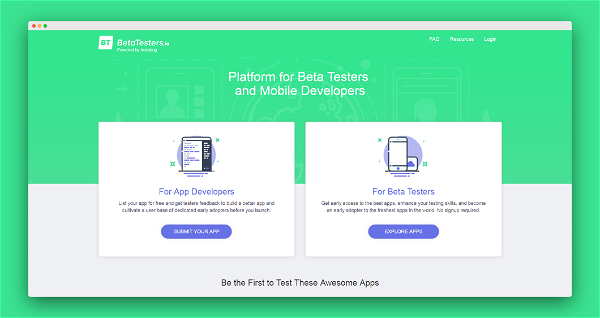 Beta Testers Screenshot