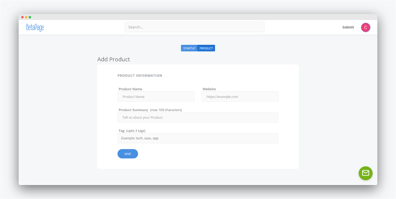 Betapage Screenshot 3