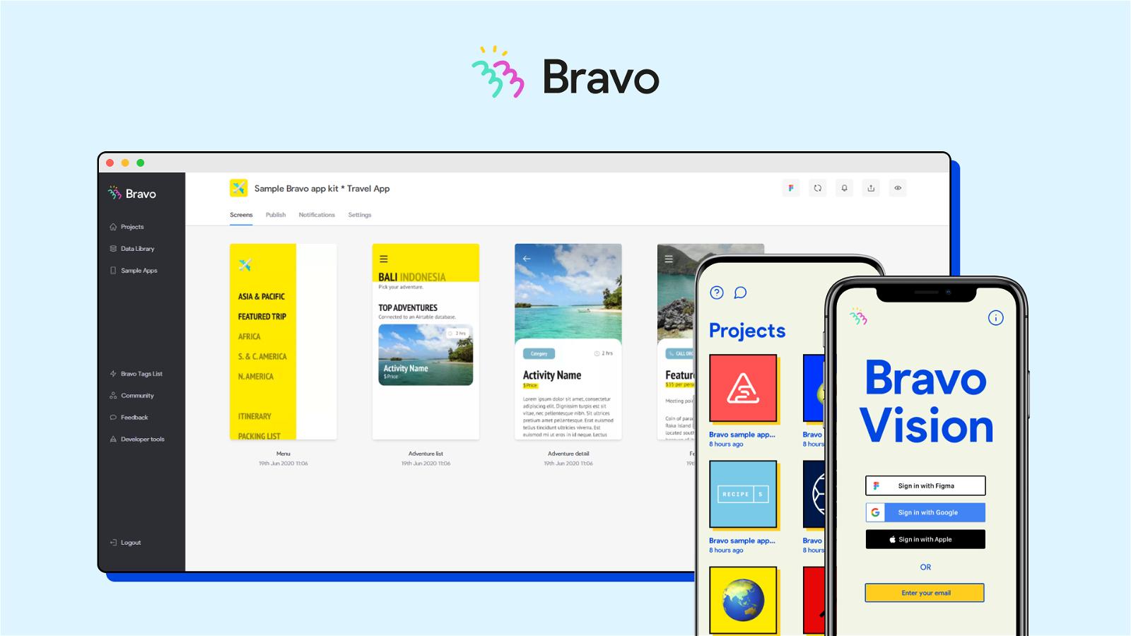 Bravo Studio Screenshot 2