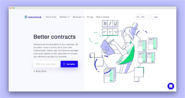 Contractbook Screenshot