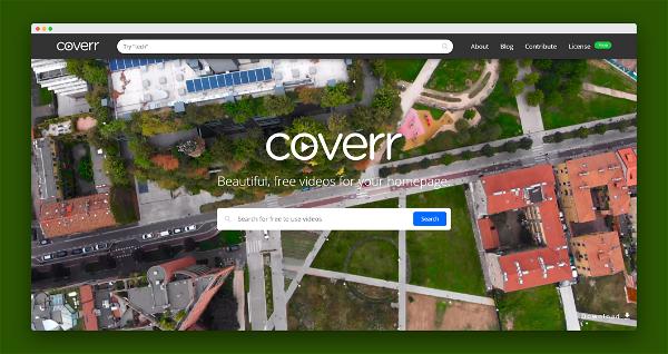 Coverr Screenshot
