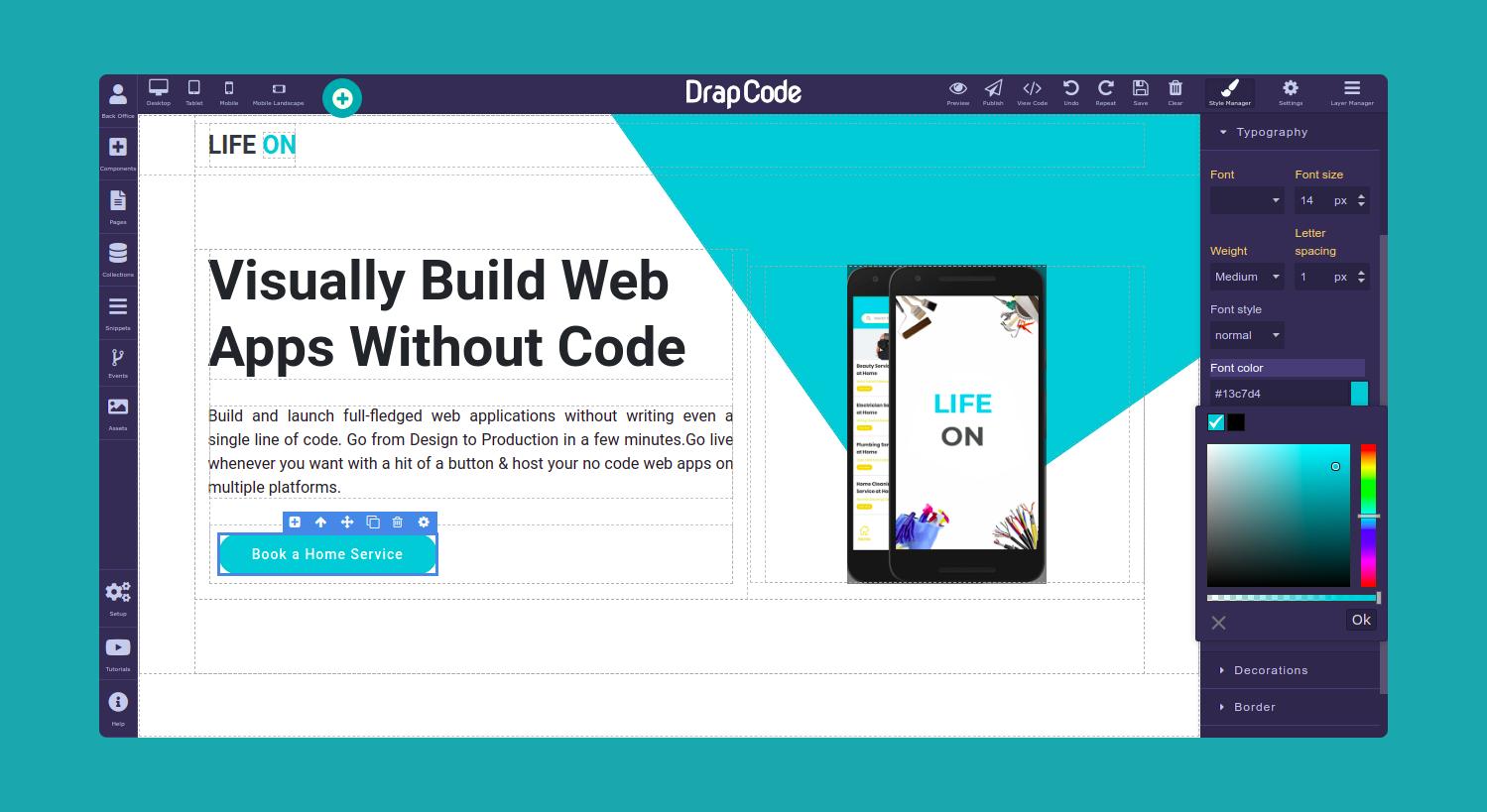 DrapCode Screenshot 1