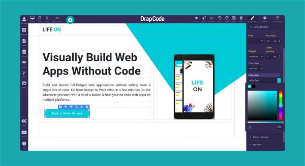 DrapCode Screenshot