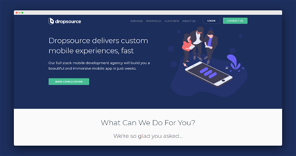 Dropsource Screenshot