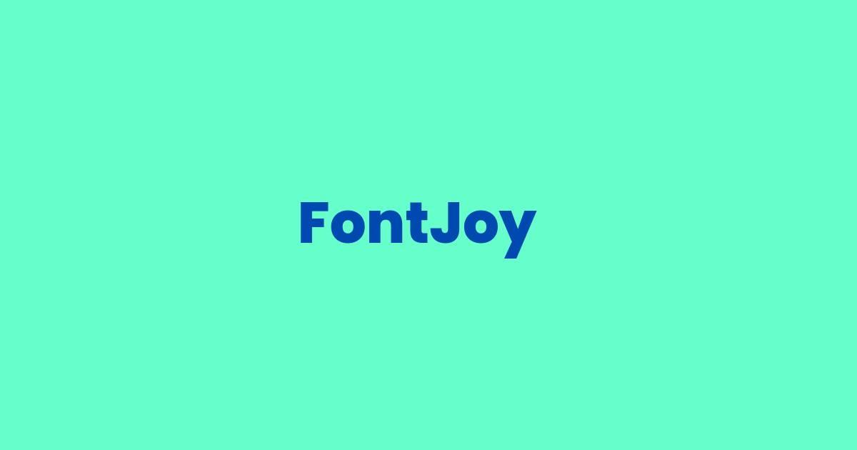 FontJoy Logo