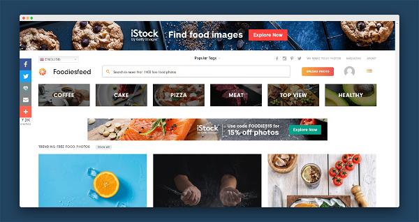 Foodies Feed Screenshot