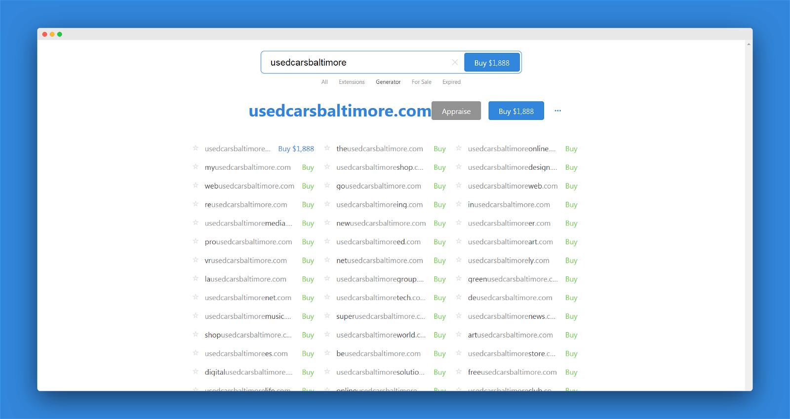 Instant Domain Screenshot 3