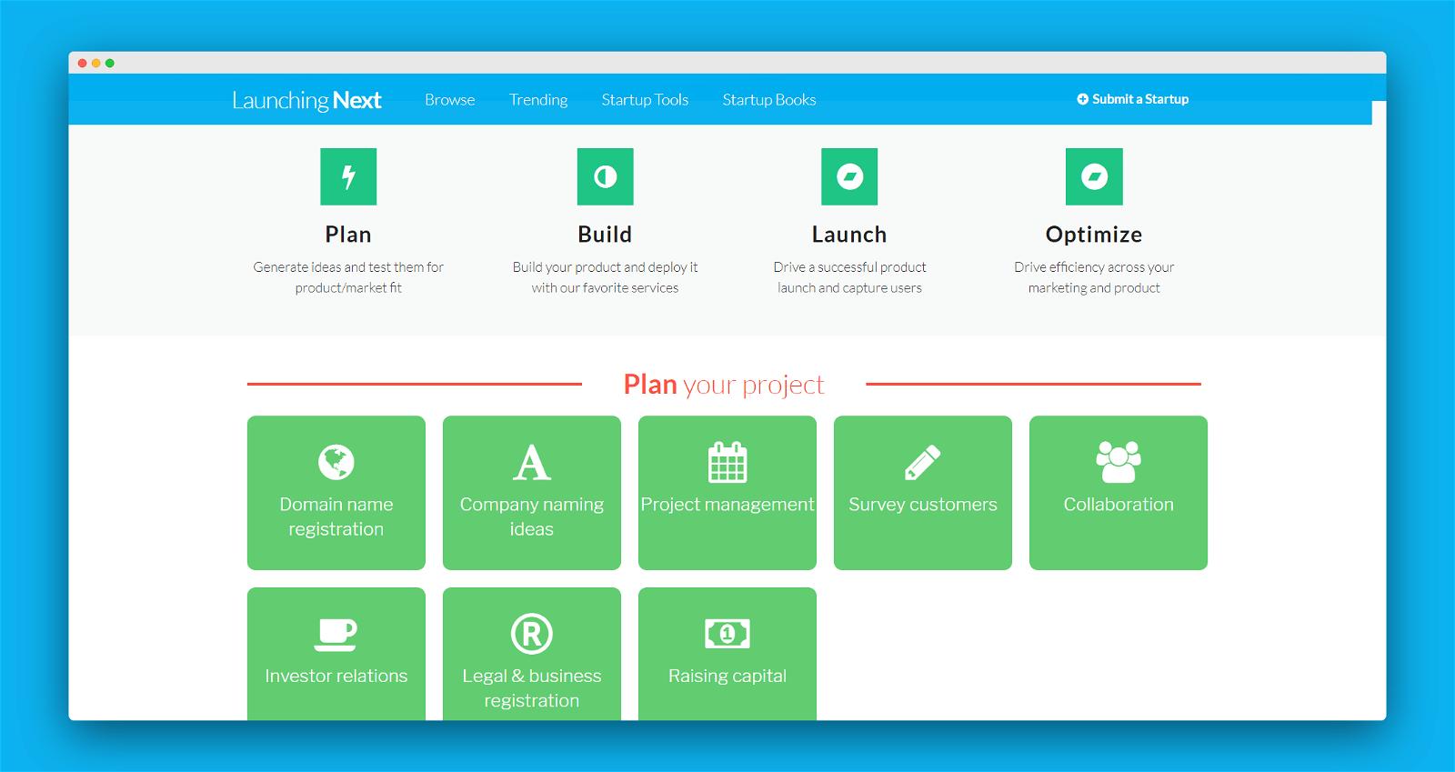 Launching Next Screenshot 3