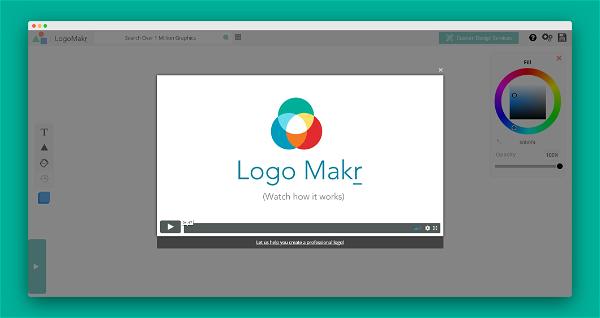 LogoMakr Screenshot