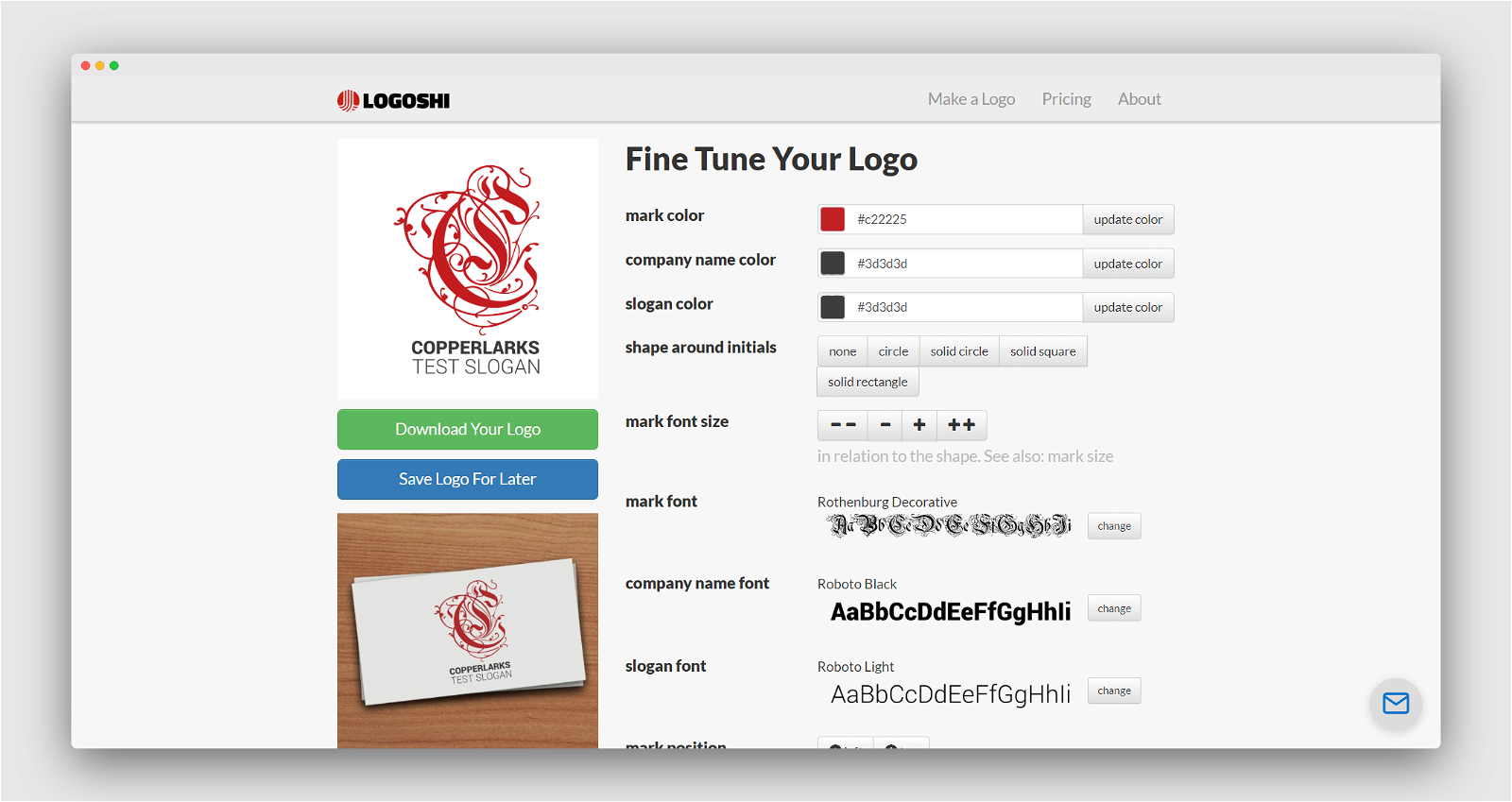 Logoshi Screenshot 3