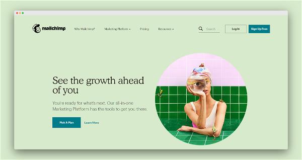 MailChimp Screenshot
