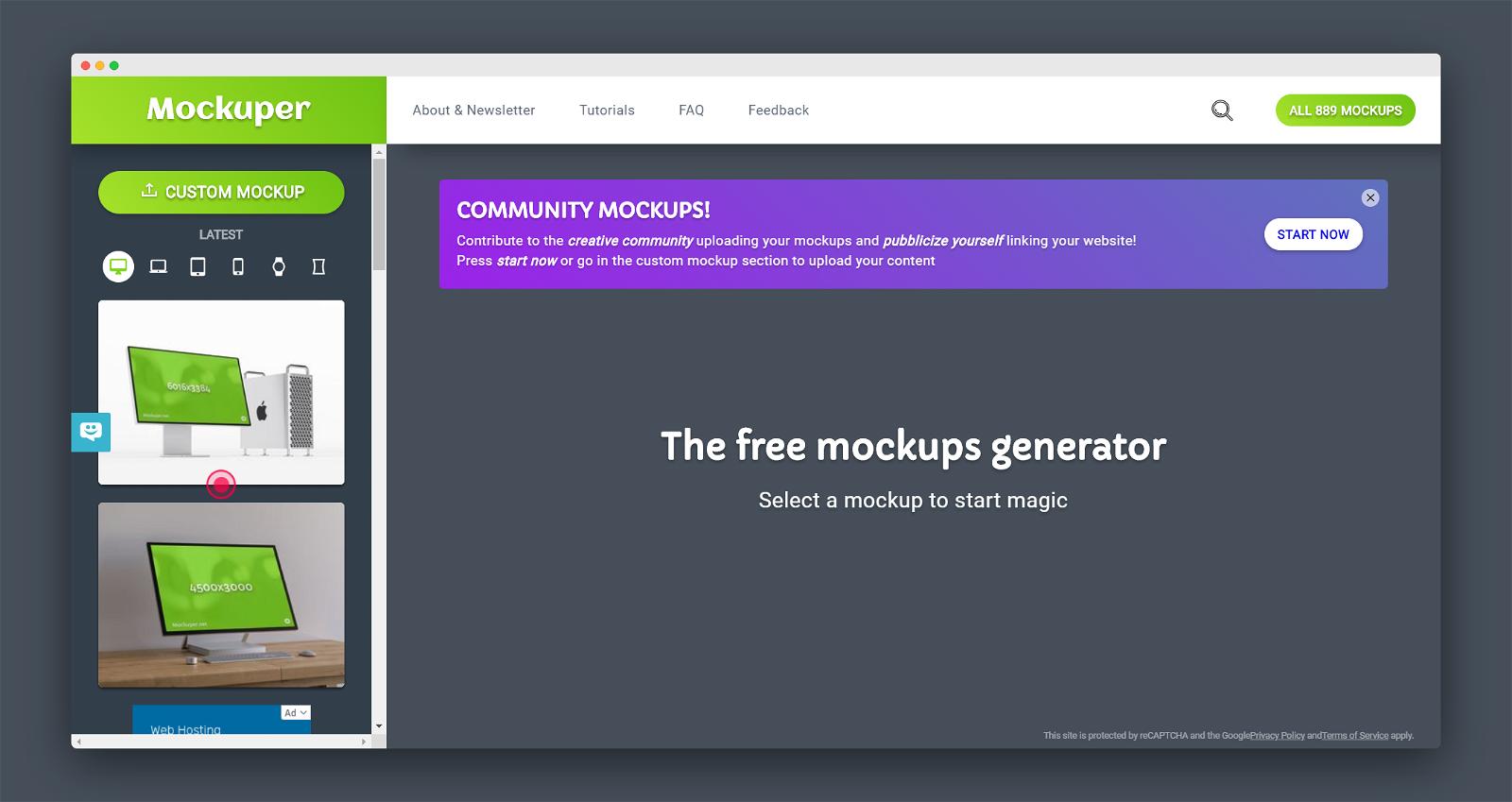 Mockuper Screenshot 1