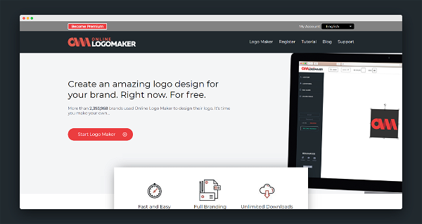 Online Logo Maker Screenshot