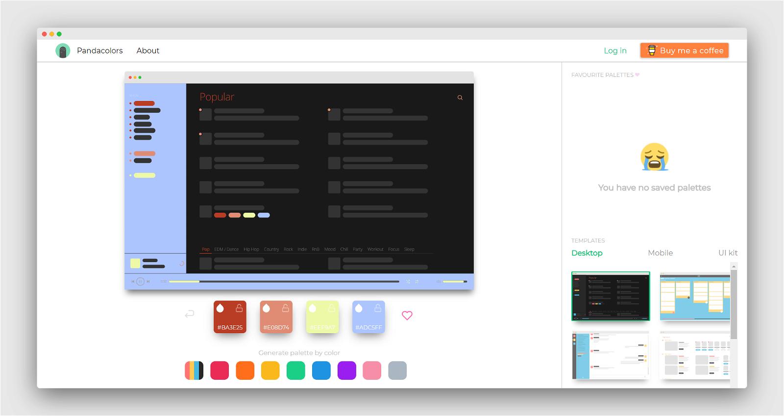 Panda Colors Screenshot 1