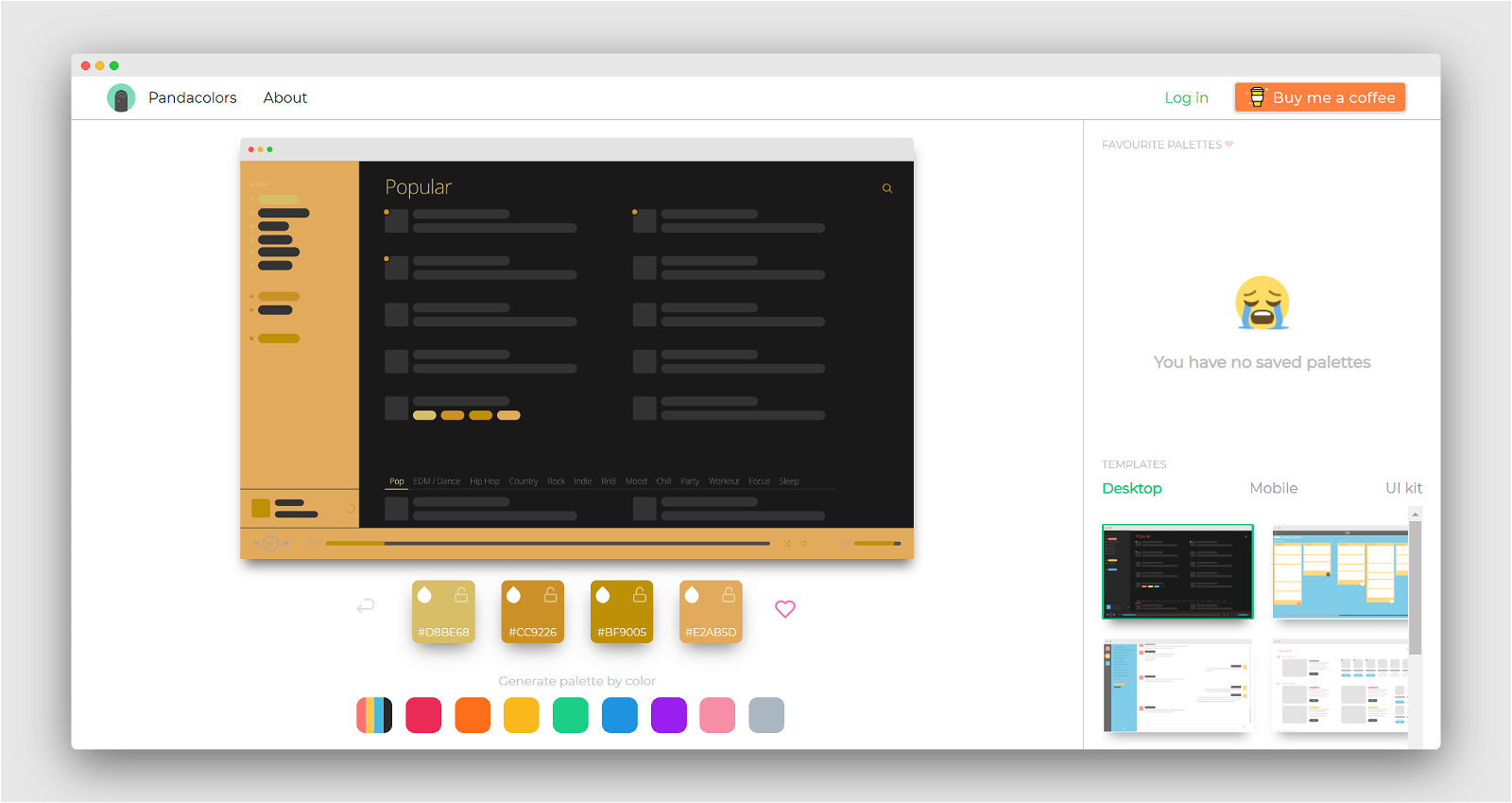Panda Colors Screenshot 2