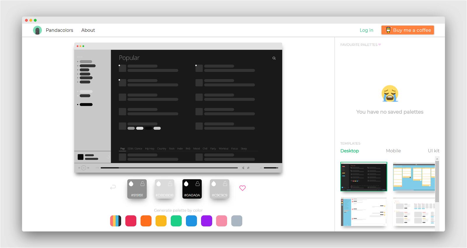Panda Colors Screenshot 3
