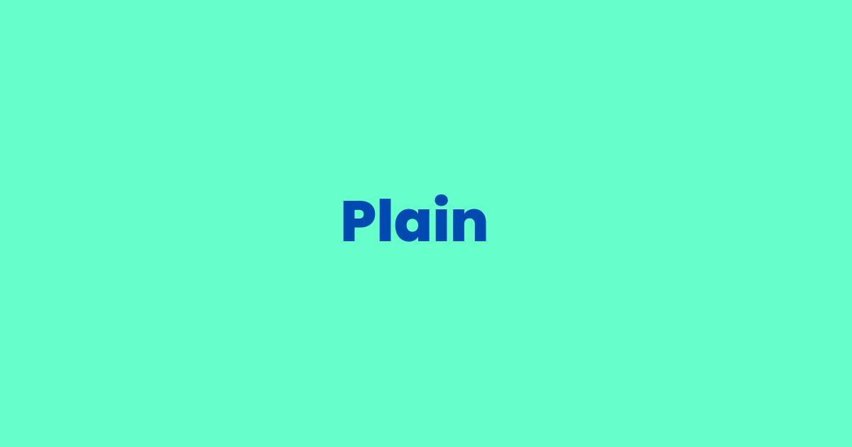 Plain Pattern Logo