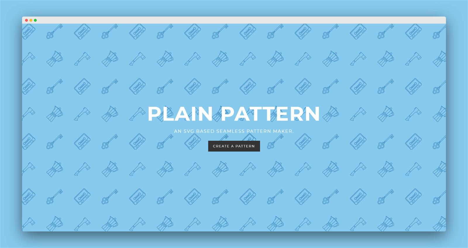 Plain Pattern Screenshot 1