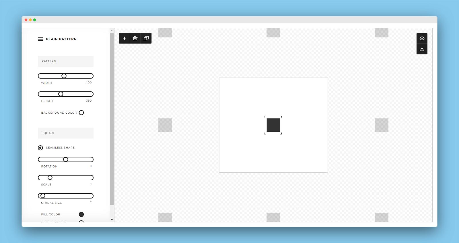 Plain Pattern Screenshot 2
