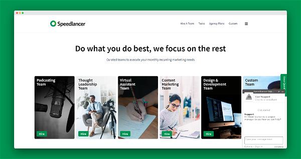 Speedlancer Screenshot