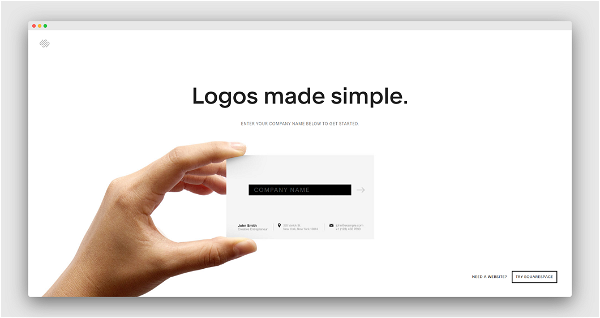 Squarespace Logos Screenshot