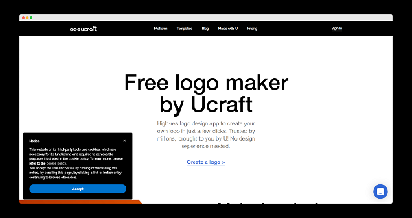 Ucraft Screenshot