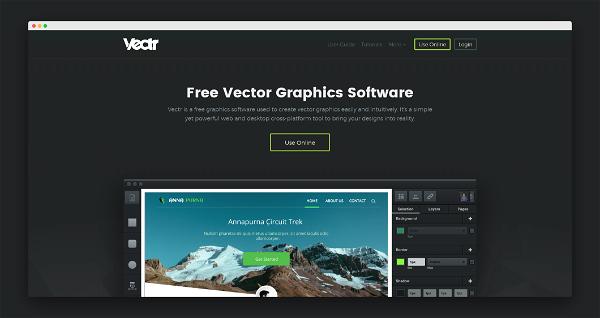 Vectr Screenshot