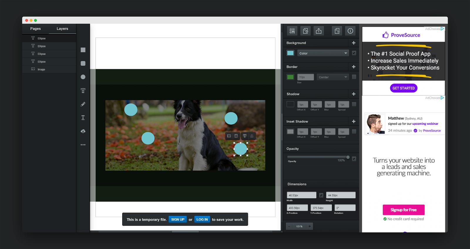 Vectr Screenshot 3