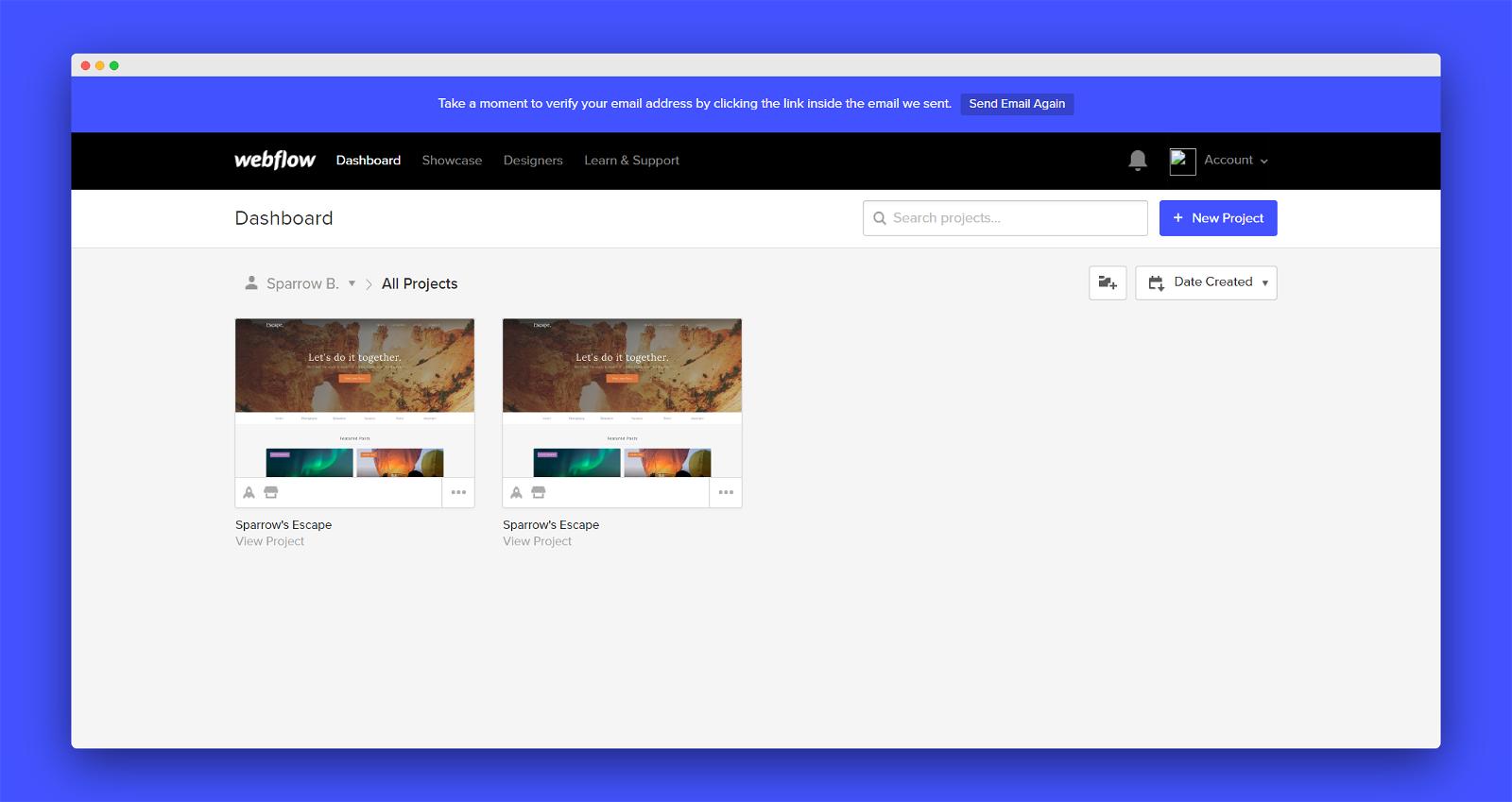 Webflow Screenshot 2