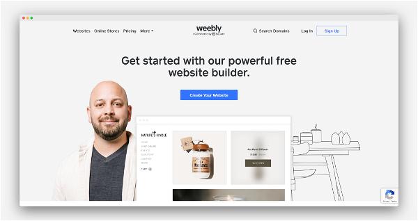 Weebly Screenshot