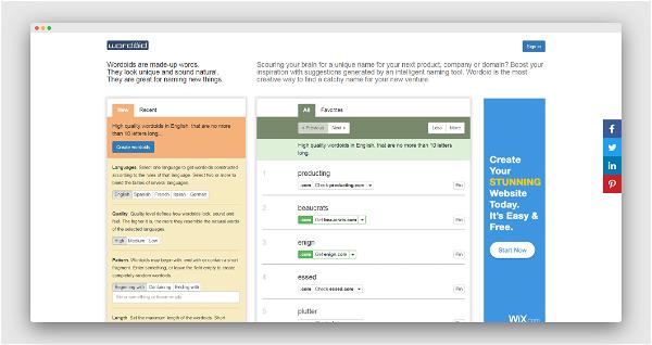 Wordoid Screenshot
