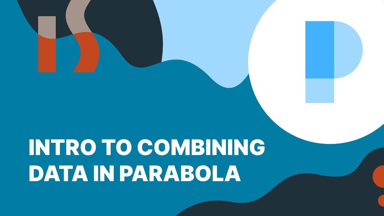 Using the Combining Data steps in Parabola Banner