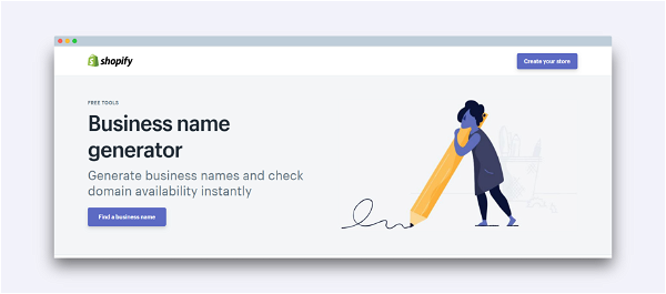 Recommendation: Shopify Name Generator